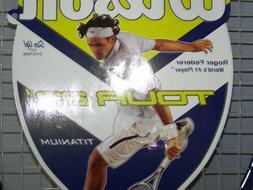 """Wilson Titanium Tennis Racquet 23"""" Tour Roger Federer 3 5/8"""