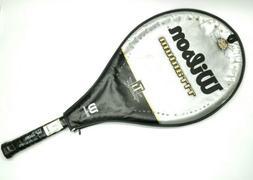 Wilson Titanium Tennis Racquet New With Case Graphite 4 3/8