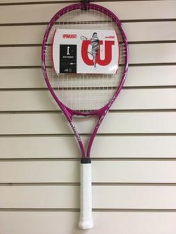 Wilson Triumph Adult Tennis Racket 41/4 grip size 112 square