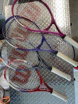 Wilson TRIUMPH & US Open Tennis Racquets Rackets Lot Of 4