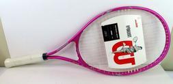 Wilson Triumph Tennis Racquet - Pink