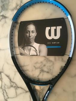Wilson Ultra 108 V3 tennis racquet, 4 3/8 grip, unstrung, fr