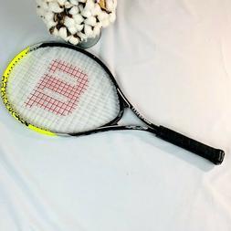 "Wilson US Open 25"" Titanium Tennis Racket Green/Black/White"