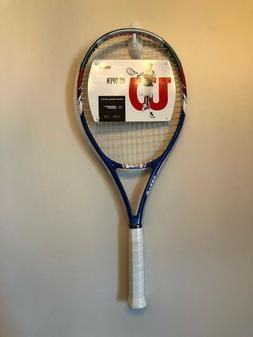 Wilson US Open Tennis Racquet, 27-1/2 Inches with 4-3/8 Inch