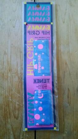 Vintage Gamma Hip Replacement Soft Overgrip Pink Blue Tennis