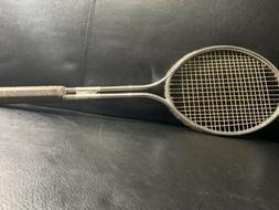 VINTAGE Slazenger PLUS  Metal Twin Shaft Tennis Racket Racqu
