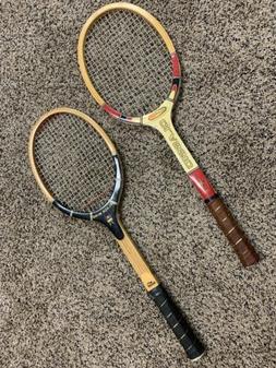 Vintage Tennis Rackets - Slazenger Black Wing & All Pro Clas