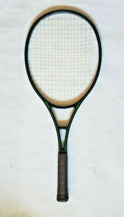 Vtg Prince Graphite Oversize Black & Green Tennis Racquet Gr