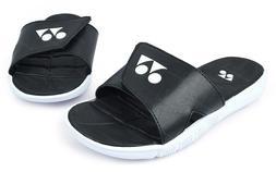 Yonex Women's Slippers Badminton Shoes Tennis Black Racquet