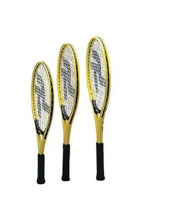 Sportime Yeller Adult Tennis Racquet, 27 Inches, Yellow/Blac